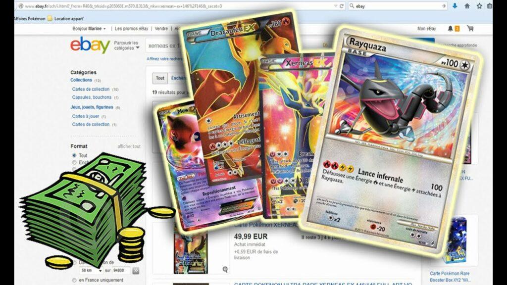 Cartes Pokémon qui valent cher