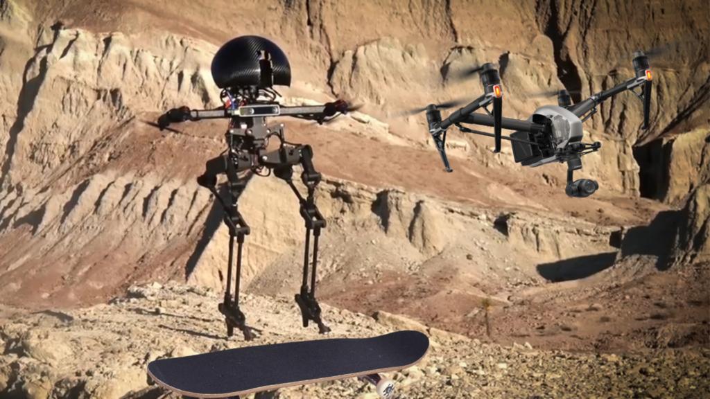 Le robot drone en image.