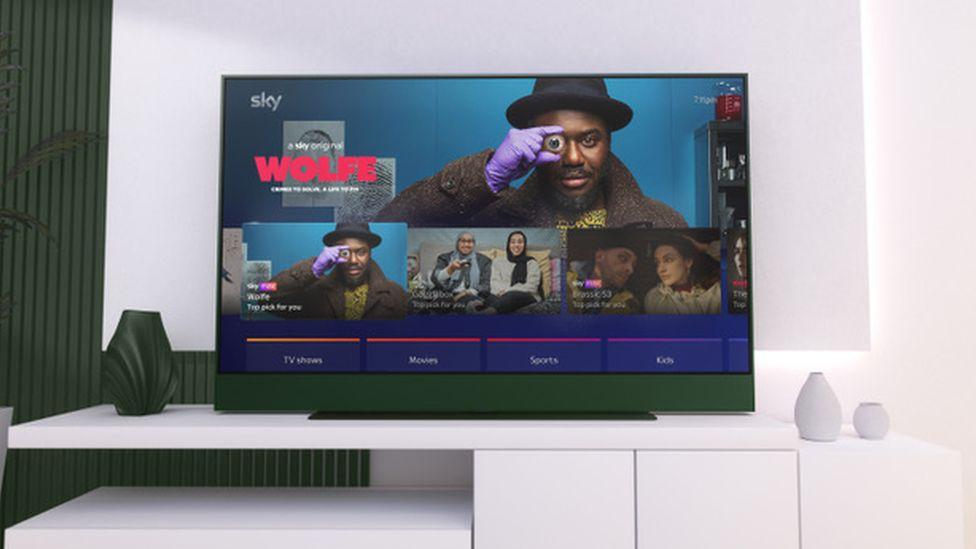 Une télévision unique.