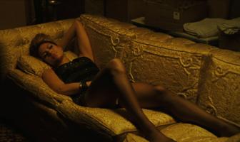 Une actrice dans une film érotique