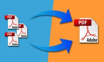 fusionner fichiers pdf