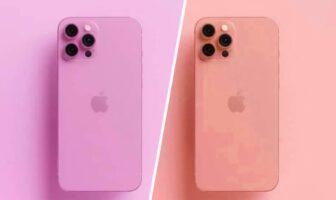 Rumeurs iPhone 13 : nouvelles couleurs rose et orange